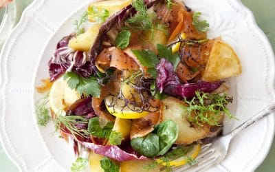 Catherine's St Patrick's Day Salad to feature on Silicon Valley Global Awards Luncheon on March 17th at the Four Seasons Hotel Palo Alto, CA.