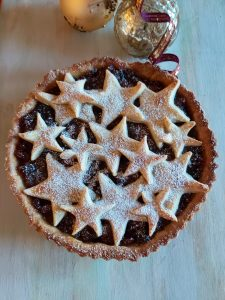 Catherine Fulvio #cookwithciurisity Christmas tart