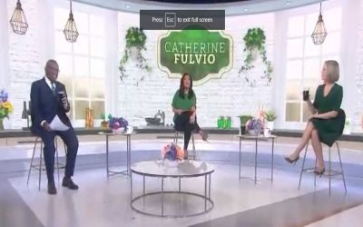 Catherine Fulvio on NBC Today Show for St Patrick's Day