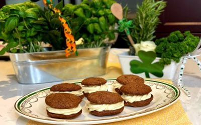 Whoopie Pies with Bailey Irish Cream Filling