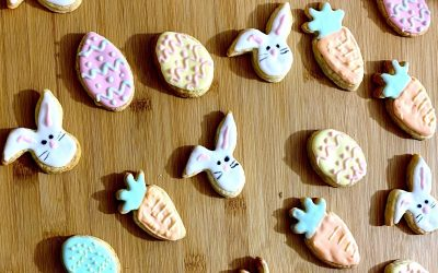 Shortbread Easter Biscuits