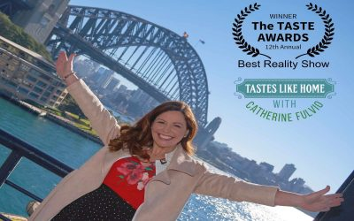 Media Release:  Tastes Likes Home with Catherine Fulvio Comes Out Tops at THE 2021 TASTE AWARDS