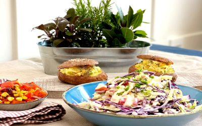 Easy Coleslaw Salad with Horseradish Dressing