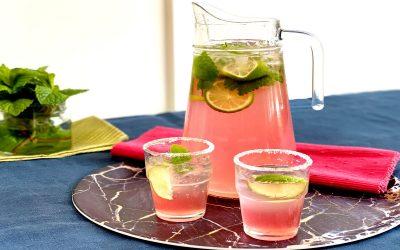 Rhubarb Gin Jug