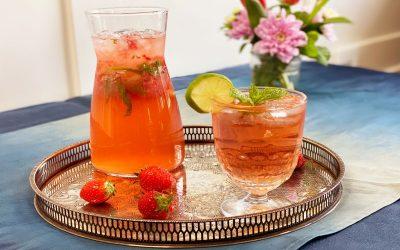Strawberry Mojito Carafe